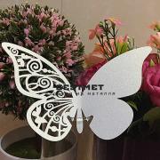 Сувенир из металла Бабочка цветы купить