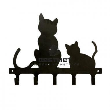 Купить Вешалка коты