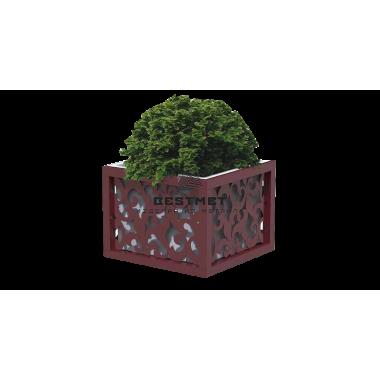 Садовый вазон с перфорацией уличный